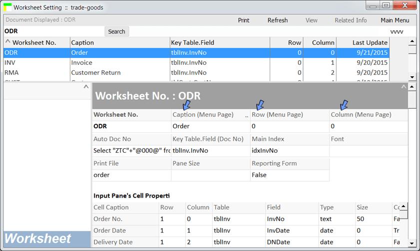 BAU DB : Editing a database worksheet in some simple steps